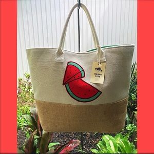 Handbags - HUGE FABULOUS LINED BEACH 🏖 TOTE PRICED TO $ELL !